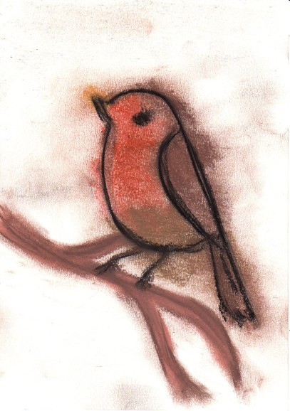 Oiseau de pastel 2