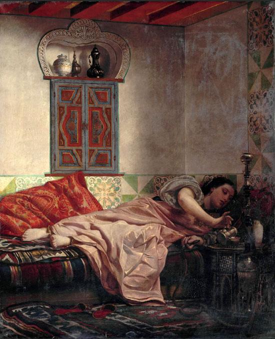 Femme juive de la province d'Alger, 1861, Abel Lawich
