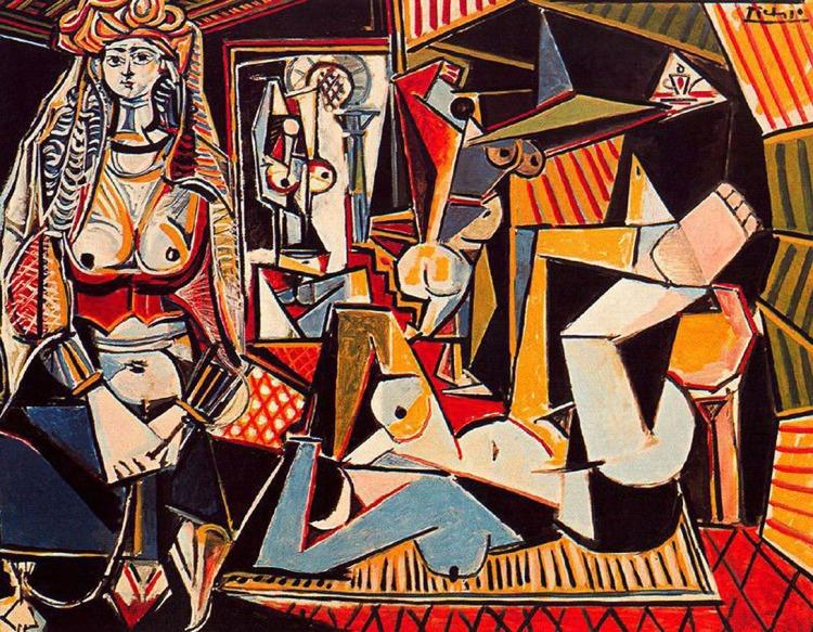Les Femmes d'Alger, 1955, Picasso