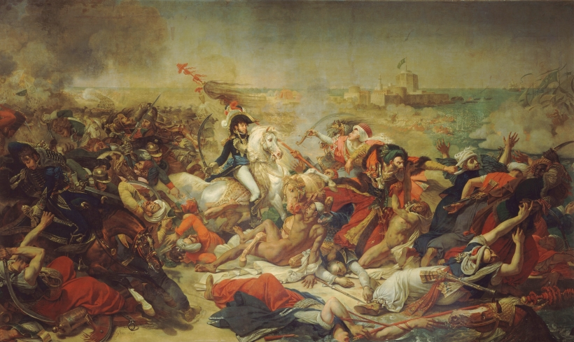 La Bataille d'Aboukir (en Égypte),1806, Antoine-Jean Gros