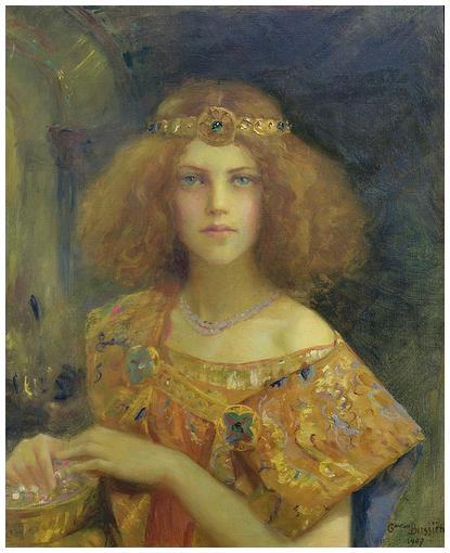 Salammbô, 1907, Gaston Bussière