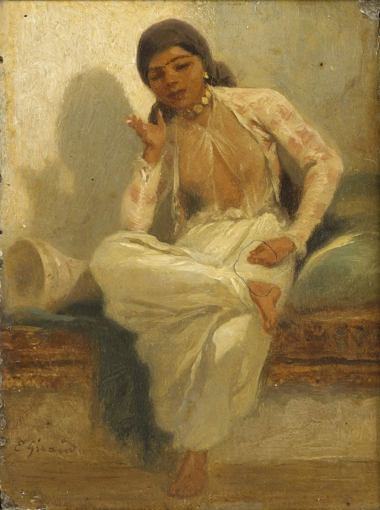 Orientale, Eugène Giraud