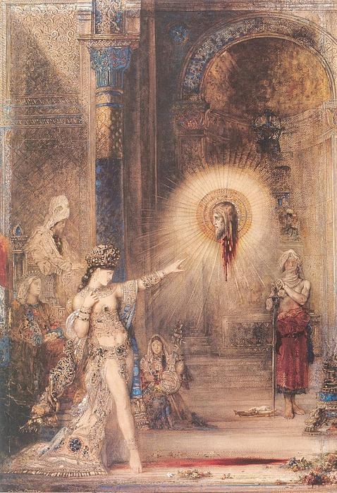 L'apparition, 1876, Gustave Moreau