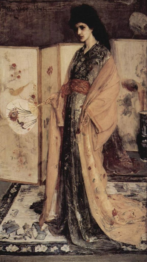 Princesse du Pays de la Porcelaine, 1863-1864 James Whistler