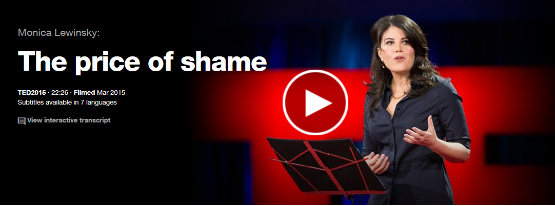 TED : The price of shame