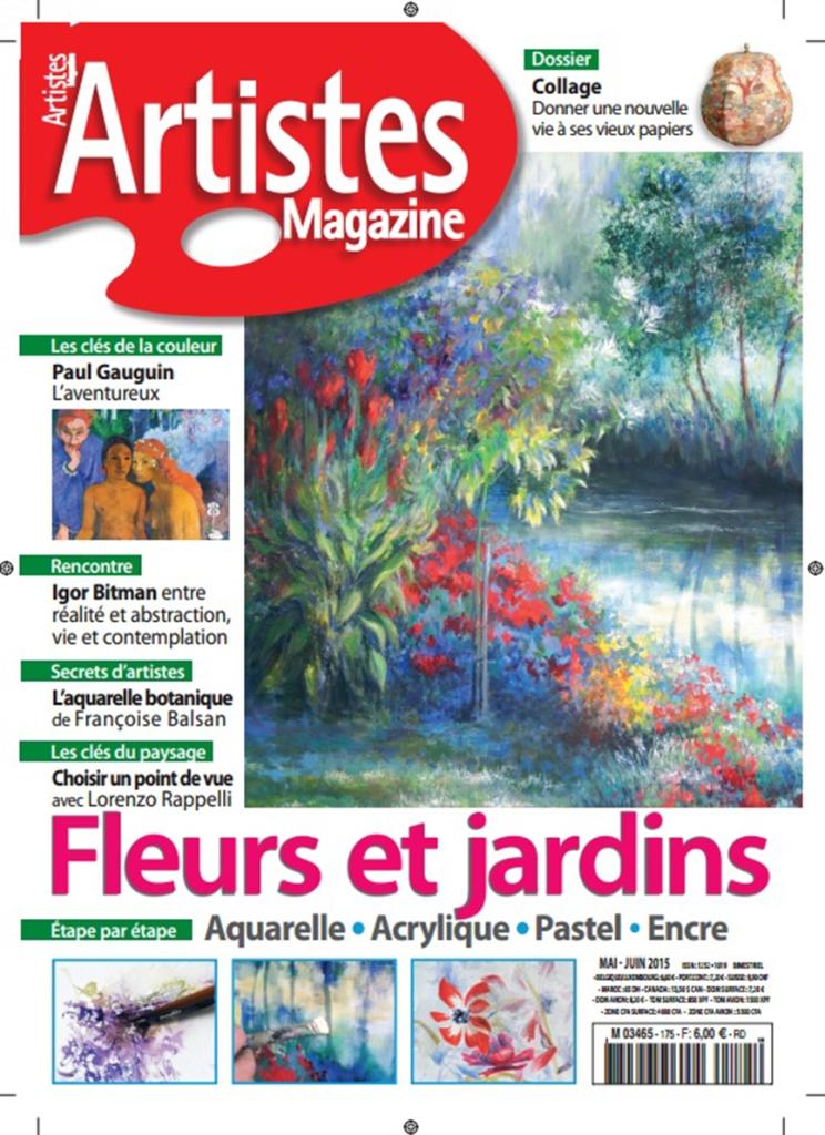 Couverture Artistes Magazine