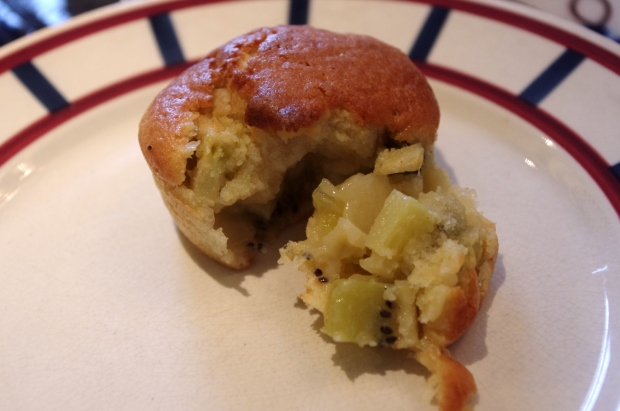 Muffin aux kiwis