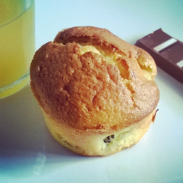Muffin made in Instagram