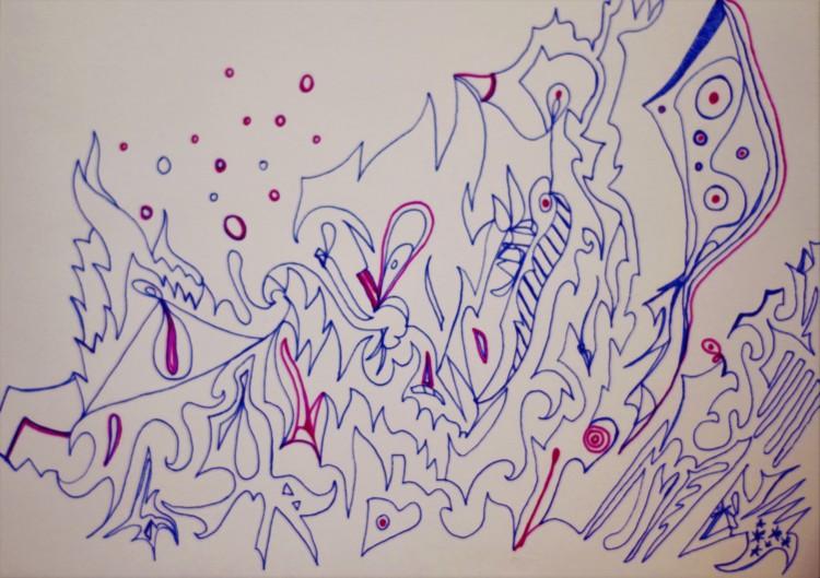 "Illustration du poème ""Oslo"""