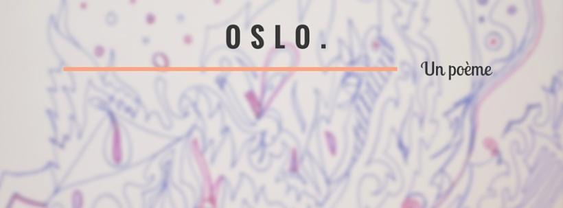 Illustration du poème Oslo