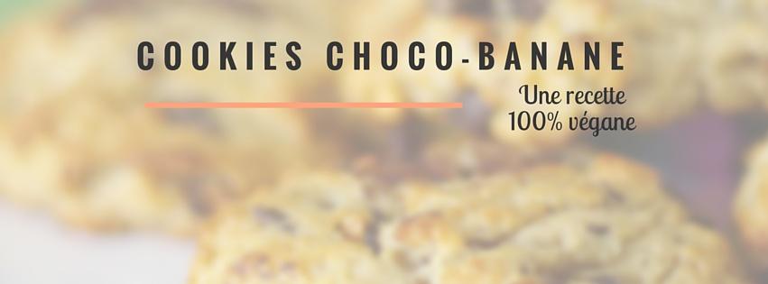 couverture article cookies chocolat et banane