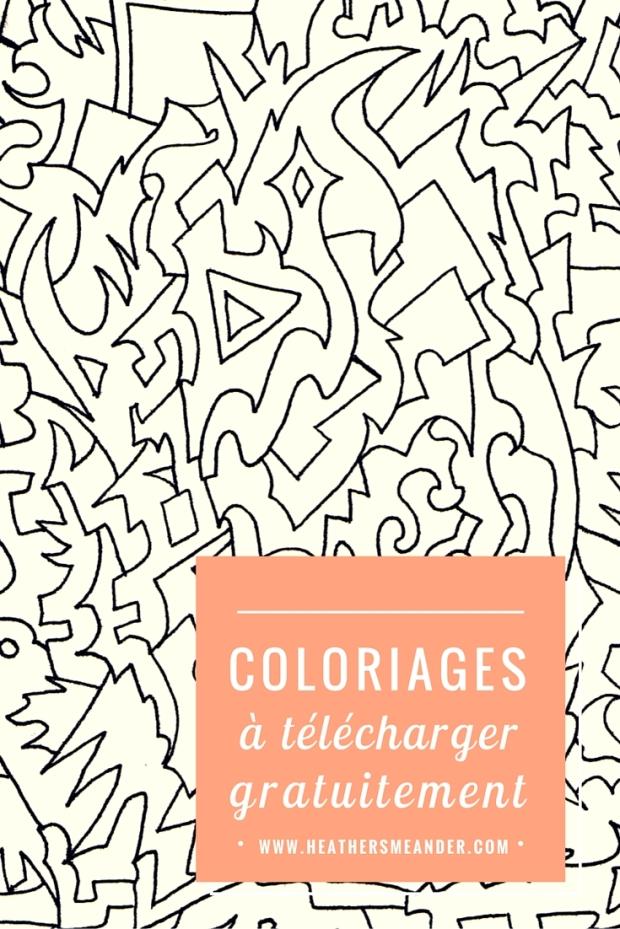 Coloriages à télécharger gratuitement