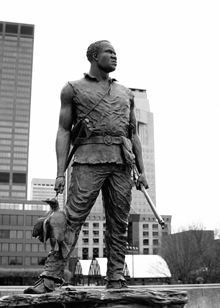 Statue de l'esclave et explorateur York