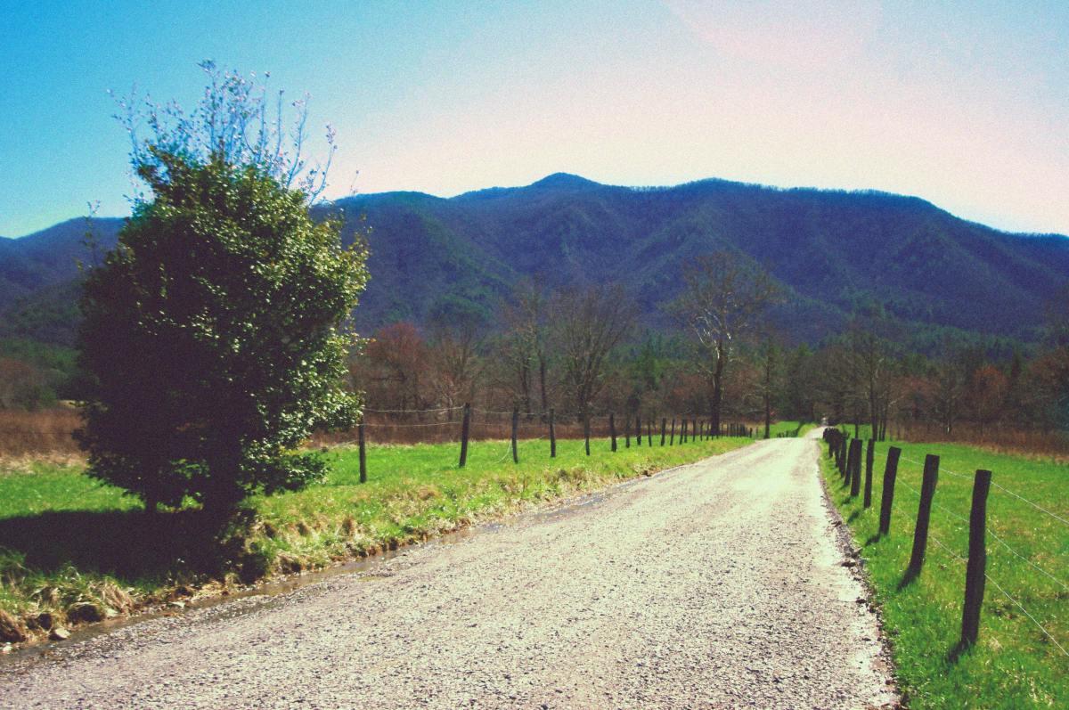 Montagne, chemin, parc naturel